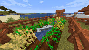 So This Random Dolphin Jumped Out Of The Lake Over The Fence And Into My Little Farm I M Not Even Mad Minecraft