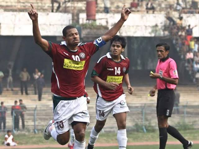 """Image result for Barreto in Mohunbagan Jersey"""""""
