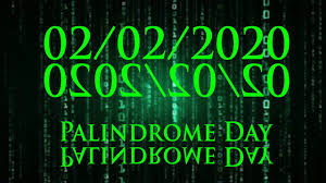 02/02/2020 Palindrome Day e Candelora ! - YouTube