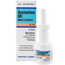 azelastine hcl 0 1 br nasal spray