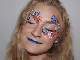 this patriotic makeup look will light