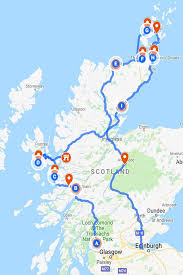 scotland plan your road trip