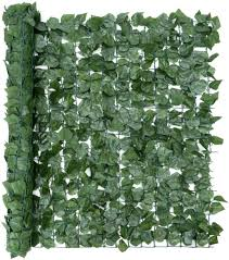 Christow Artificial Hedge Roll Ivy Leaf Screening Privacy Fence Screen Uv Resistant 1m X 3m 9ft 10 X 3ft 3 Amazon Co Uk Garden Outdoors
