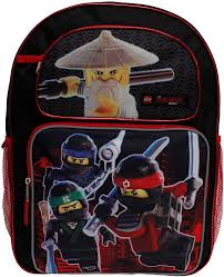 Backpack - Lego Ninjago - Movie Black/Red 16