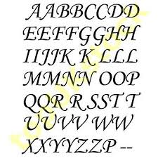 2x Caps Letter Vinyl Decal A To Z Stickers Kit Alphabet Glass Craft Wall 2 90cm 4 44 Picclick Uk
