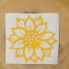 Sunflower Vinyl Decal For Windows Laptops Phones Ornaments And More Ebay