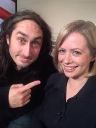"""Polly Evans on Twitter: """"Look who's here! @realrossnoble We'll be talking  #BrainDump 6.30 BBC1 @bbcsoutheast… """""""