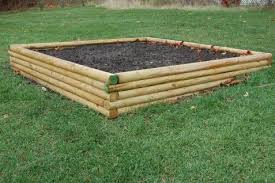 raised garden bed landscape timbers