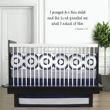 I Prayed For This Child Bible Verse Vinyl Nursery Wall Decal Sold By Sticker This On Storenvy