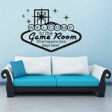 Gamer Vinyl Wall Stickers Video Game Play Room Welcoming E Sports Decals Decor Ebay