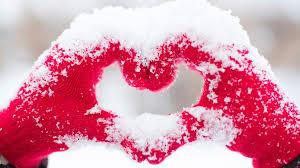 Beautiful Snow Heart Wallpaper for Desktop and Mobiles ...