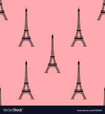 eiffel tower paris france seamless