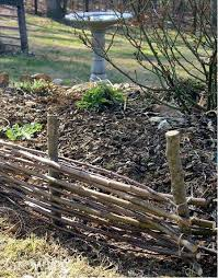 Weaving Wood Twig Towers And Wattle Fences Wattle Fence Fence Weaving Garden Fencing