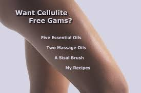 anti cellulite oil recipes as an