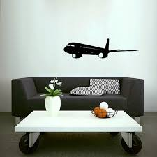 Airplane Landing Lax Airport Vinyl Wall Art Decals Home Etsy