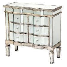 vintage venetian mirror chest of 6 drawers