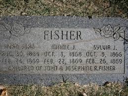 John Ivan Fisher (1864-1869) - Find A Grave Memorial