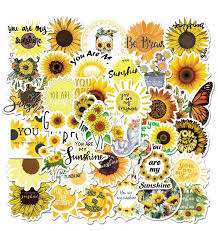2020 Sunflower You Are My Sunshine Sticker Pack For Water Bottle Laptop Luggage Car Bicycle Travel Case Notebook Vinyl Waterproof Sticker From Summerlover 2 63 Dhgate Com