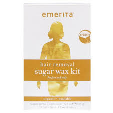 emerita wax hair removal sugar kit face