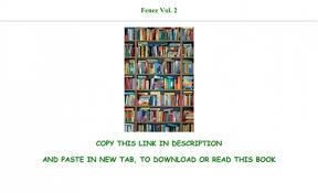 Epub Download Fence Vol 2 Full Pdf