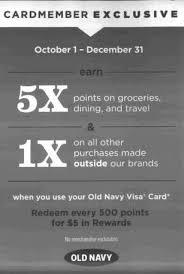 targeted gap banana old navy visa card