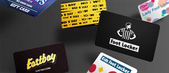 gift cards foot locker