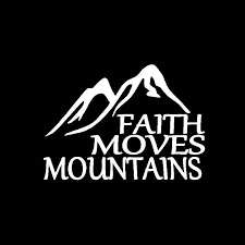 Yjzt 14 5cm 10 2cm Faith Moves Mountains Car Sticker Vinyl Decal Jesus God Christian Holy Bible Black Silver C3 1490 Car Stickers Aliexpress
