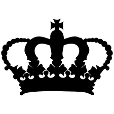 Royal Crown Wall Decal Laptop Decal Wall Stickers Car Decal On Etsy 4 99 Crown Stencil Wall Stickers Cars Decals