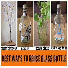 reuse the gl bottle