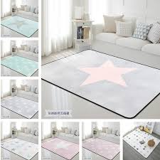 The Nordic Star Carpet Kids Livingroom And Bedroom Area Rug Thick Soft Baby Play Rug Leisure Bed Carpet Blankets Tapete Carpet Aliexpress