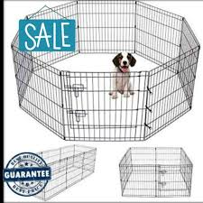 8 Panel Dog Fence 2ft 2 5ft 3ft Playpen Shopee Philippines