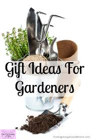 gift ideas for the gardener in your life