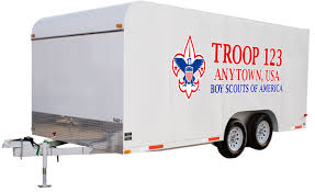Scouts Bsa Troop Trailer Graphics Classb Custom Apparel And Products