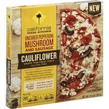 cauliflower thin crust