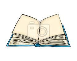 Otevřená kniha karikatura vektor symbol ikona design. krásná ...