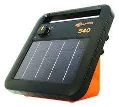 S40 Portable Solar Electric Fence Charger Gallagher Electric Fencing Gallagher Electric Fencing From Valley Farm Supply