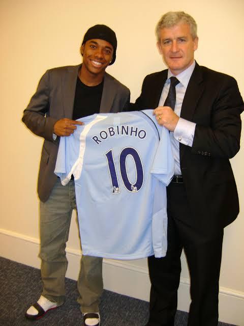 "Image result for Robinho Manchester City signing"""