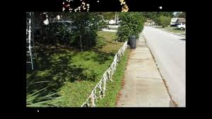 How To Make A Fence Out Of Christmas Lights Youtube
