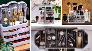 makeup storage ideas for small es