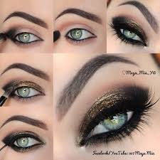 top 10 amazing black eye makeup tutorials