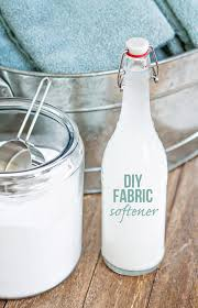 diy homemade fabric softener