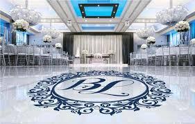 Wedding Dance Floor Wall Sticker Vinyl Decal Wedding Room Decoration Floor Decal Dance Floor Wedding Couples Name Sticker Hy151 Wall Stickers Aliexpress