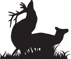 Elk Mating Decal Htn1 72 Big Game Window Decals Wildlife Decal