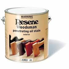 Resene Solventborne Wood Oil Stain Timber Fences Mitre 10