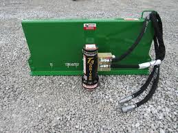 Danuser T3 Tee Post Driver 3 Diameter Oil Field Posts John Deere Tractor Loader Skid Steer Attachment Depot
