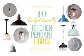 budget friendly kitchen pendant lights
