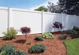 Bufftech New Lexington Vinyl Fence Sections Privacy Fence