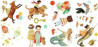Dream World Characters Peel And Stick Wall Decals By Roommates Barnes Noble