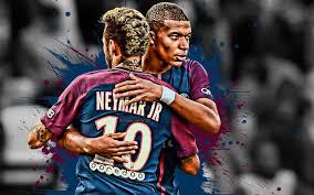 تحميل خلفيات نيمار Kylian Mbappe باريس سان جيرمان شهرة لاعبي