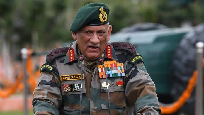 Image result for bipin rawat